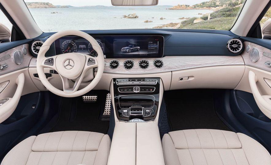 2018 Mercedes-Benz E-class cabriolet - Slide 77