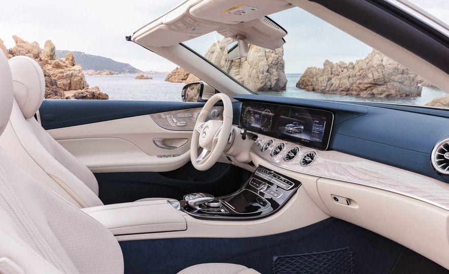 2018 Mercedes-Benz E-class cabriolet - Slide 78