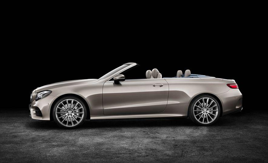 2018 Mercedes-Benz E-class cabriolet - Slide 84