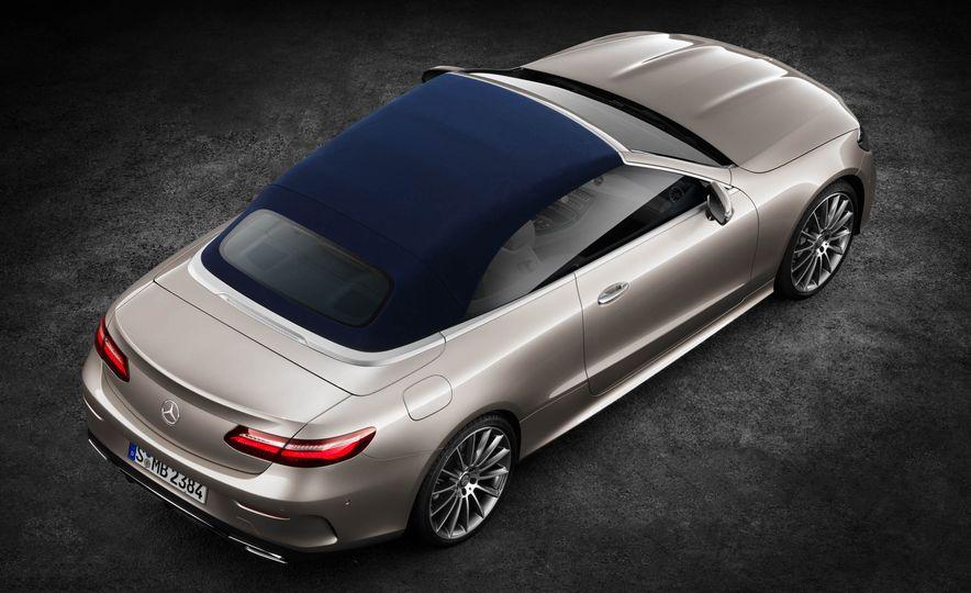2018 Mercedes-Benz E-class cabriolet - Slide 89