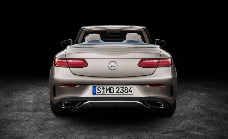 2018 Mercedes-Benz E-class cabriolet - Slide 90