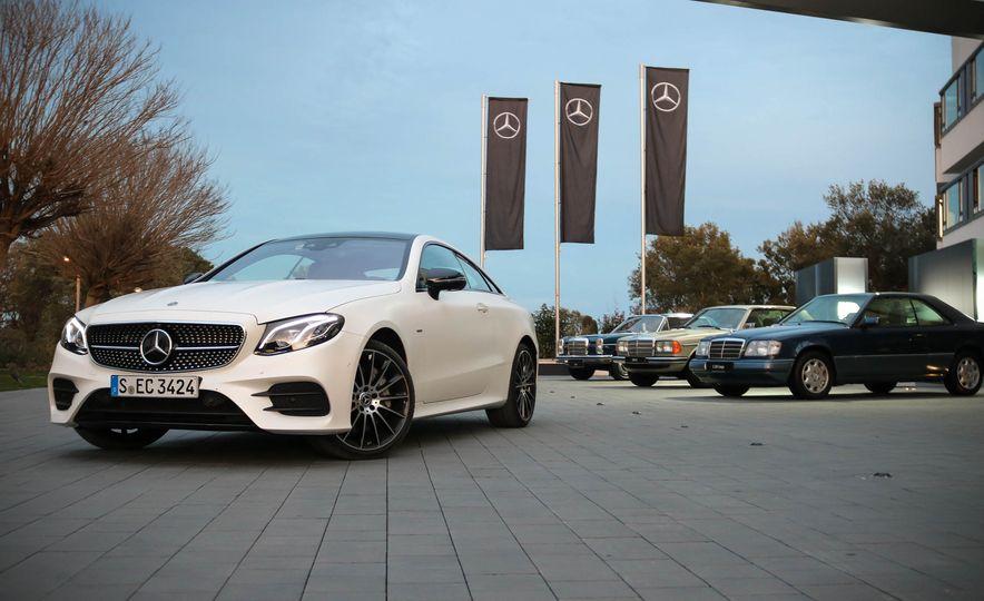 2018 Mercedes-Benz E-class coupe - Slide 1