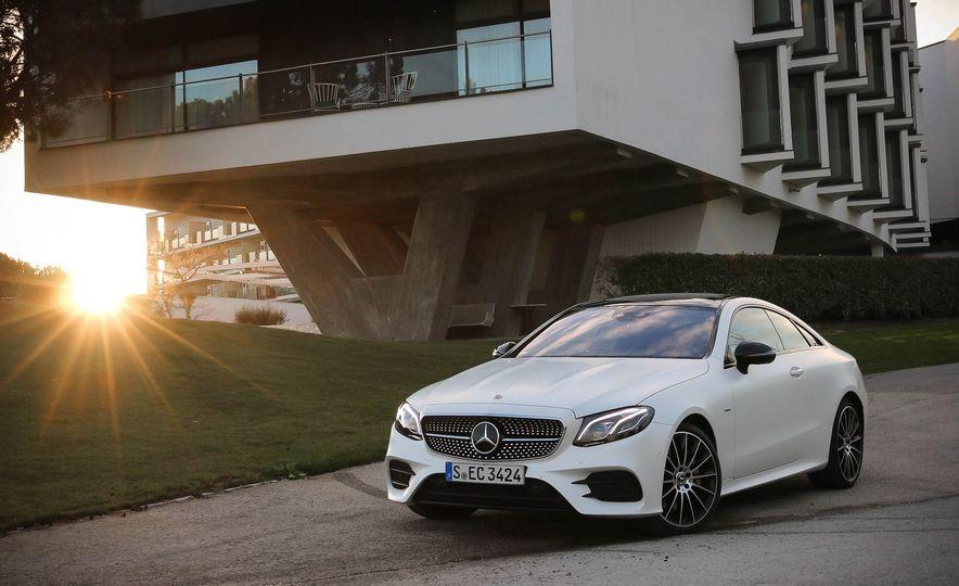 2018 Mercedes-Benz E-class coupe - Slide 6