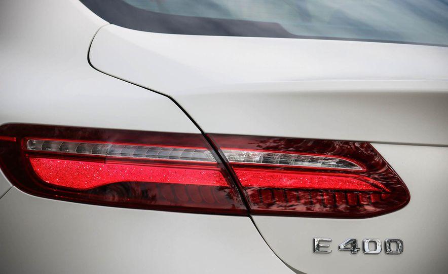 2018 Mercedes-Benz E-class coupe - Slide 20