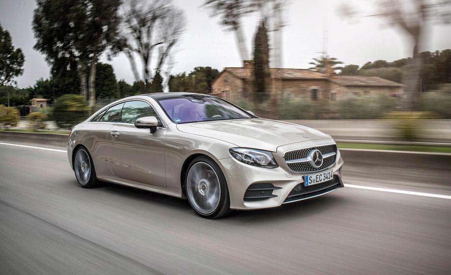 2018 Mercedes-Benz E-class coupe - Slide 54