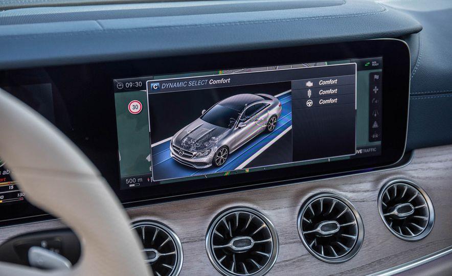2018 Mercedes-Benz E-class coupe - Slide 60
