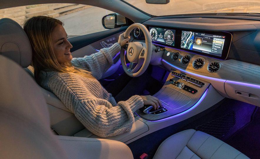 2018 Mercedes-Benz E-class coupe - Slide 64
