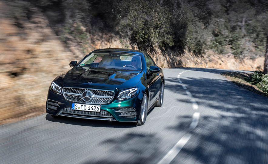 2018 Mercedes-Benz E-class coupe - Slide 65