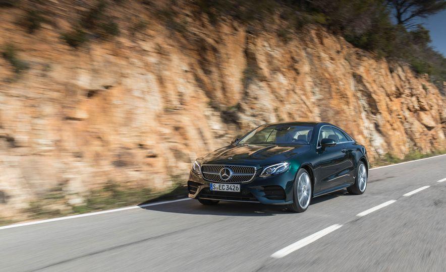 2018 Mercedes-Benz E-class coupe - Slide 66