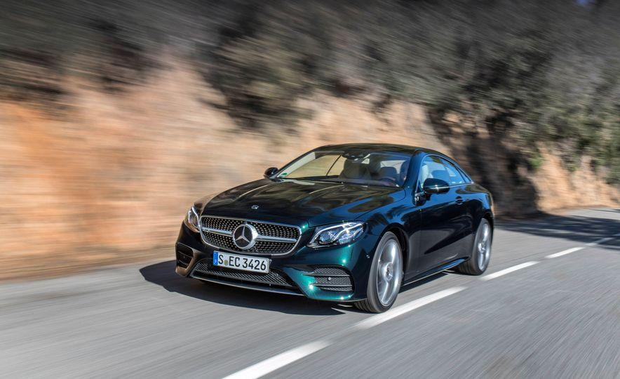 2018 Mercedes-Benz E-class coupe - Slide 67
