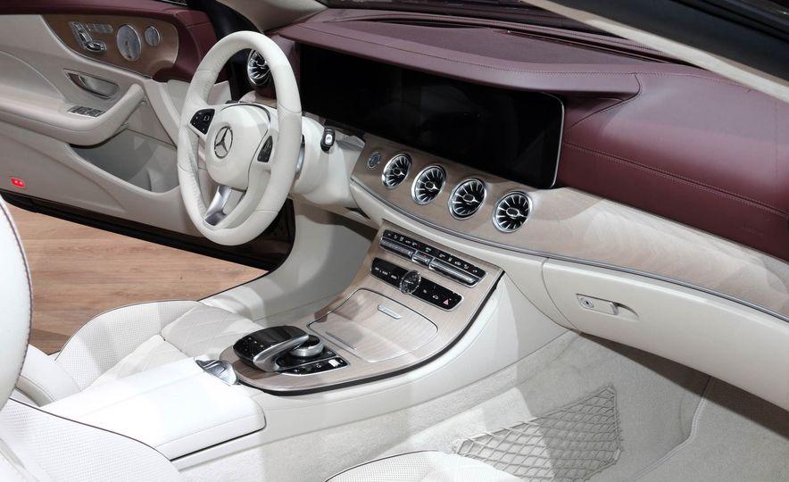 2018 Mercedes-Benz E-class cabriolet - Slide 8