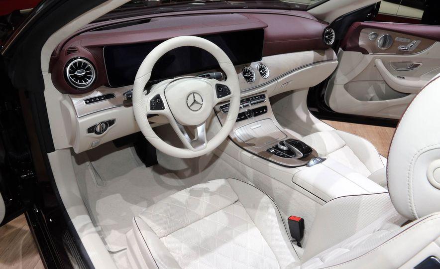 2018 Mercedes-Benz E-class cabriolet - Slide 9