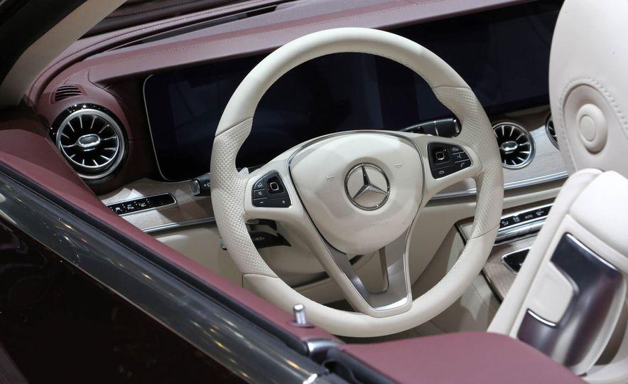 2018 Mercedes-Benz E-class cabriolet - Slide 11