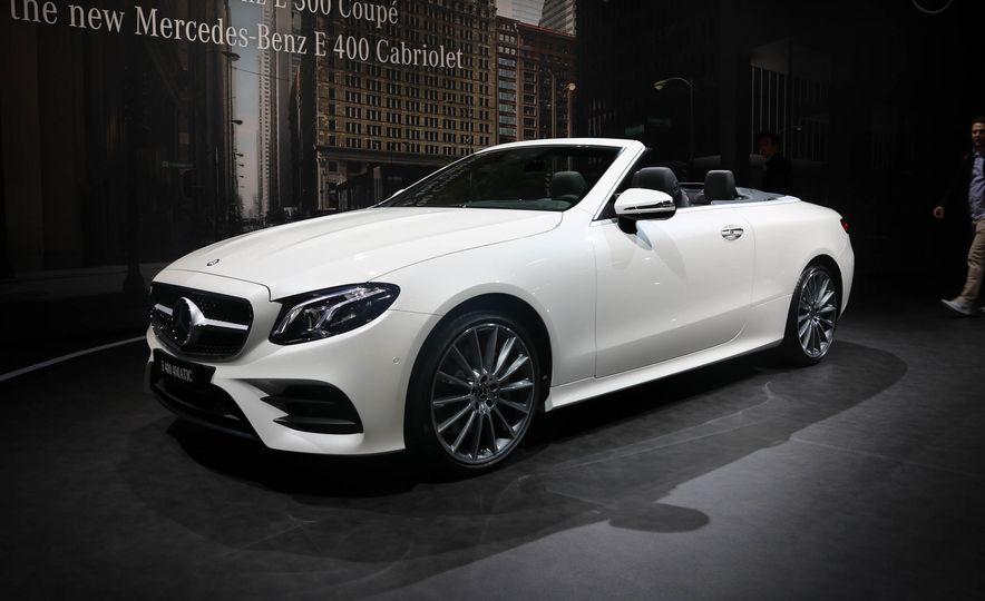2018 Mercedes-Benz E-class cabriolet - Slide 13