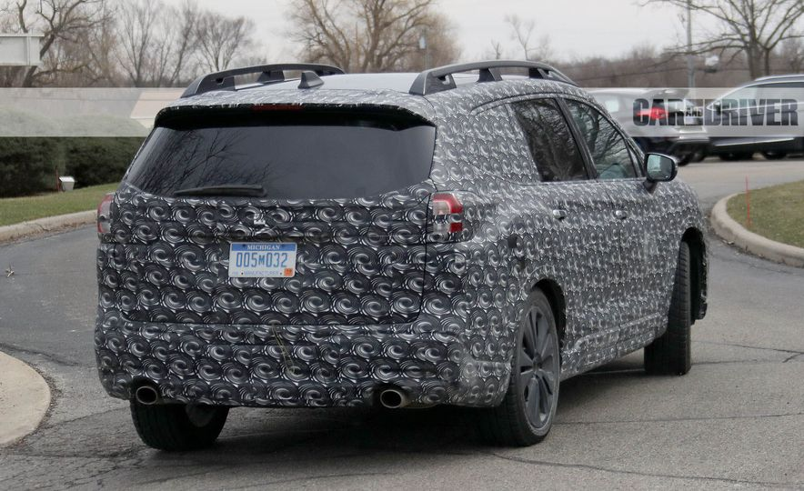 2018 Subaru Ascent (spy photo) - Slide 13