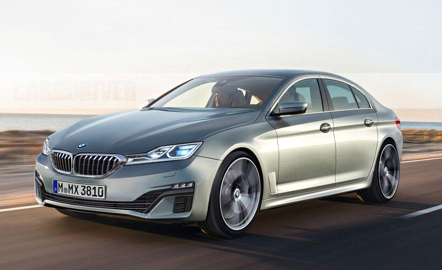 2019 BMW 3-series (artist's rendering) - Slide 1