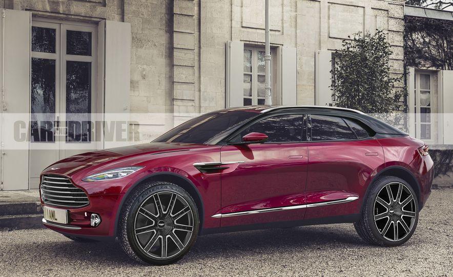 2020 Aston Martin DBX (artist's rendering) - Slide 1