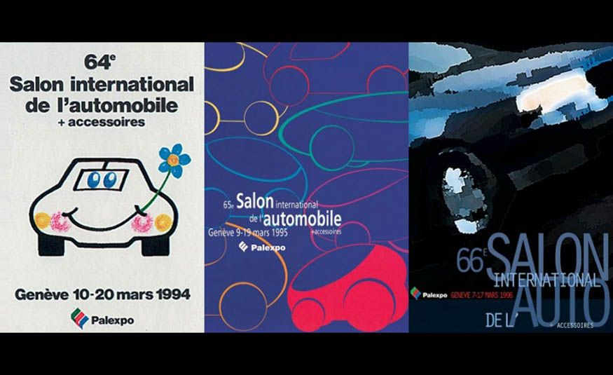 See Every Geneva Auto Show Poster from 1924 to 2017 - Slide 23