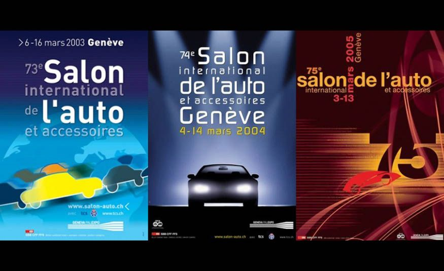See Every Geneva Auto Show Poster from 1924 to 2017 - Slide 26