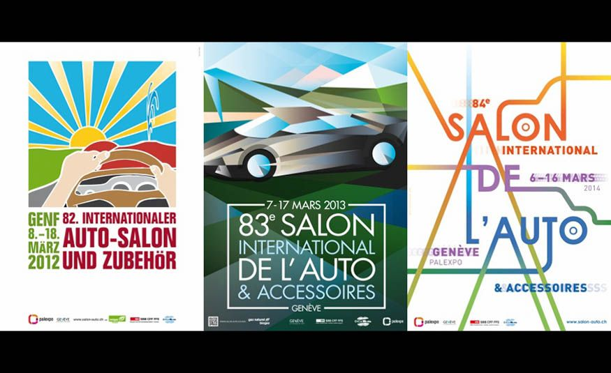 See Every Geneva Auto Show Poster from 1924 to 2017 - Slide 29