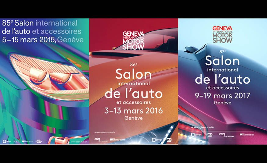 See Every Geneva Auto Show Poster from 1924 to 2017 - Slide 30