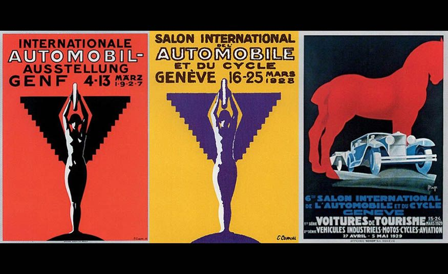 See Every Geneva Auto Show Poster from 1924 to 2017 - Slide 3
