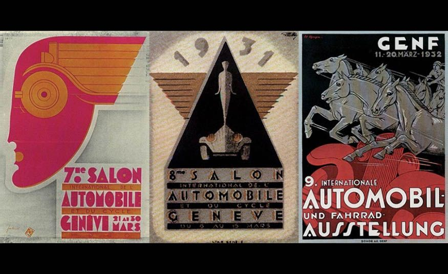See Every Geneva Auto Show Poster from 1924 to 2017 - Slide 4