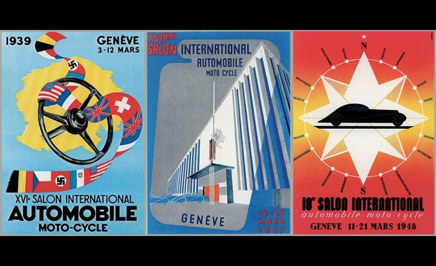 See Every Geneva Auto Show Poster from 1924 to 2017 - Slide 7