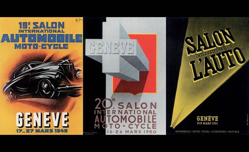 See Every Geneva Auto Show Poster from 1924 to 2017 - Slide 8