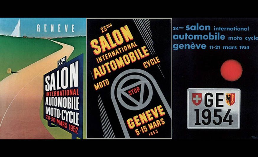 See Every Geneva Auto Show Poster from 1924 to 2017 - Slide 9