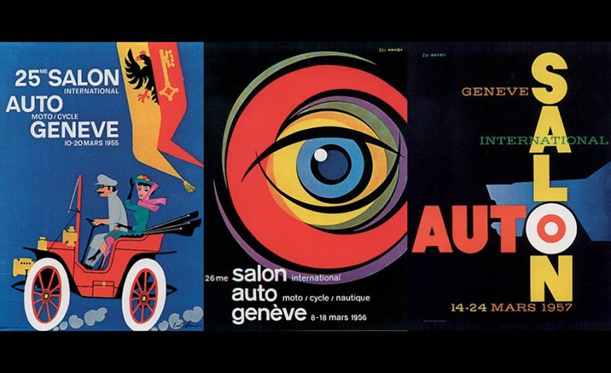 See Every Geneva Auto Show Poster from 1924 to 2017 - Slide 10