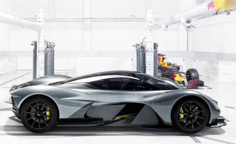 Aston Is Planning A Mid Engined Supercar Below The Valkyrie News