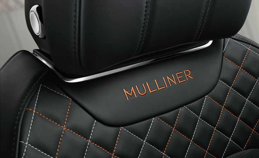 2018 Bentley Bentayga Mulliner - Slide 11