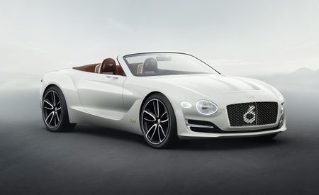 Bentley Design Boss Gives Details on Future Bentley EV's Styling