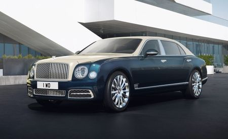 """Silver and Gold!"": Bentley Mulsanne Hallmark Series by Mulliner"