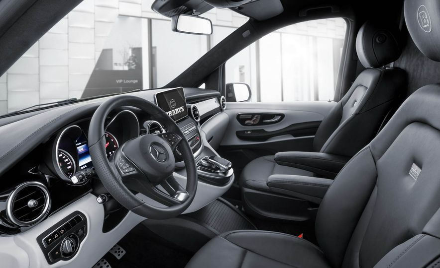 Brabus Business Lounge Mercedes-Benz V-class - Slide 6