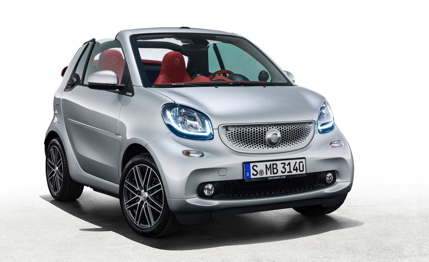 2017 Smart Fortwo cabriolet Brabus Edition #2 - Slide 11