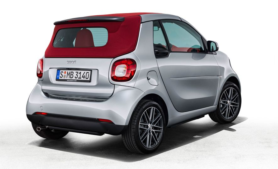 2017 Smart Fortwo cabriolet Brabus Edition #2 - Slide 14
