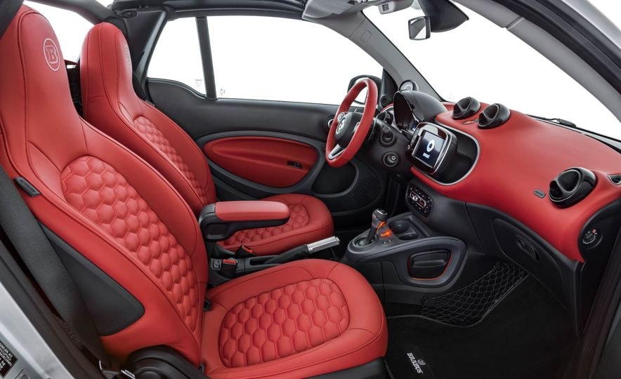 2017 Smart Fortwo cabriolet Brabus Edition #2 - Slide 15