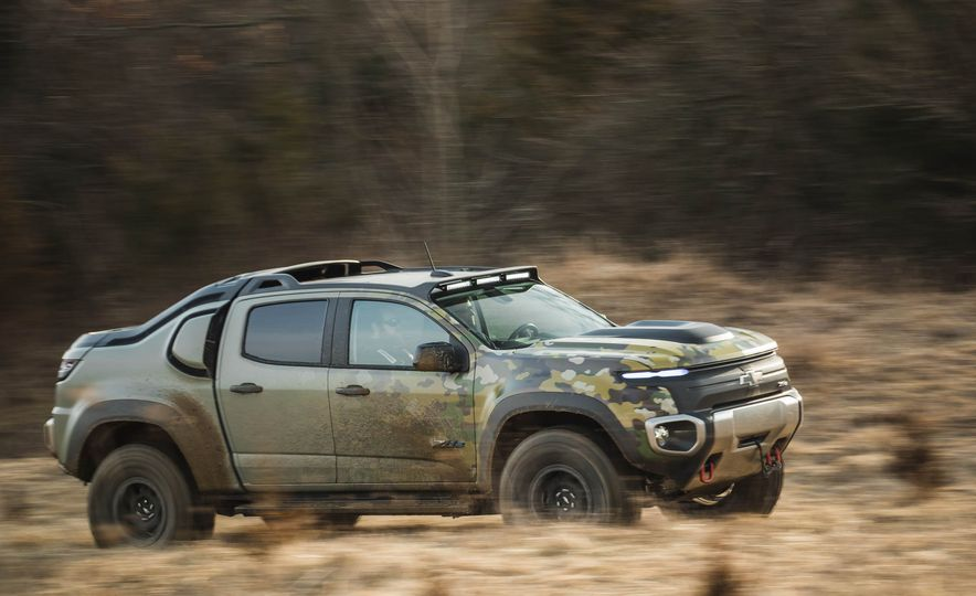 Chevrolet Colorado ZH2 Fuel Cell concept - Slide 1