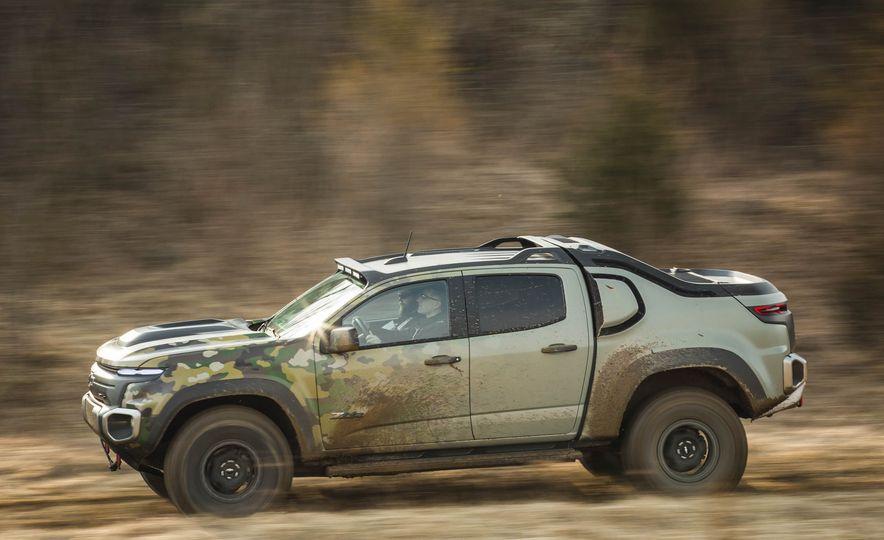 Chevrolet Colorado ZH2 Fuel Cell concept - Slide 7