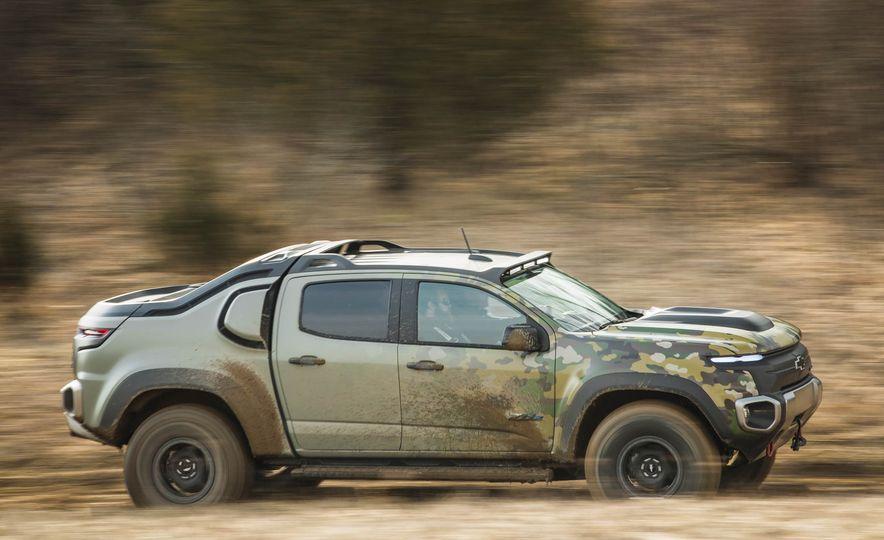 Chevrolet Colorado ZH2 Fuel Cell concept - Slide 9