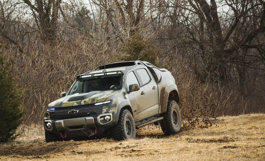 Chevrolet Colorado ZH2 Fuel Cell concept - Slide 15