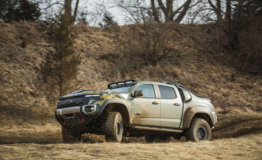 Chevrolet Colorado ZH2 Fuel Cell concept - Slide 17