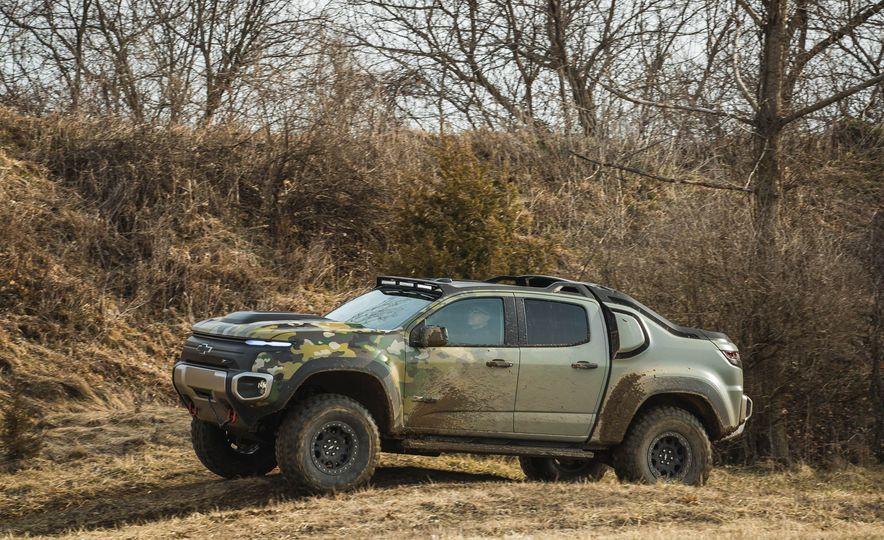 Chevrolet Colorado ZH2 Fuel Cell concept - Slide 18