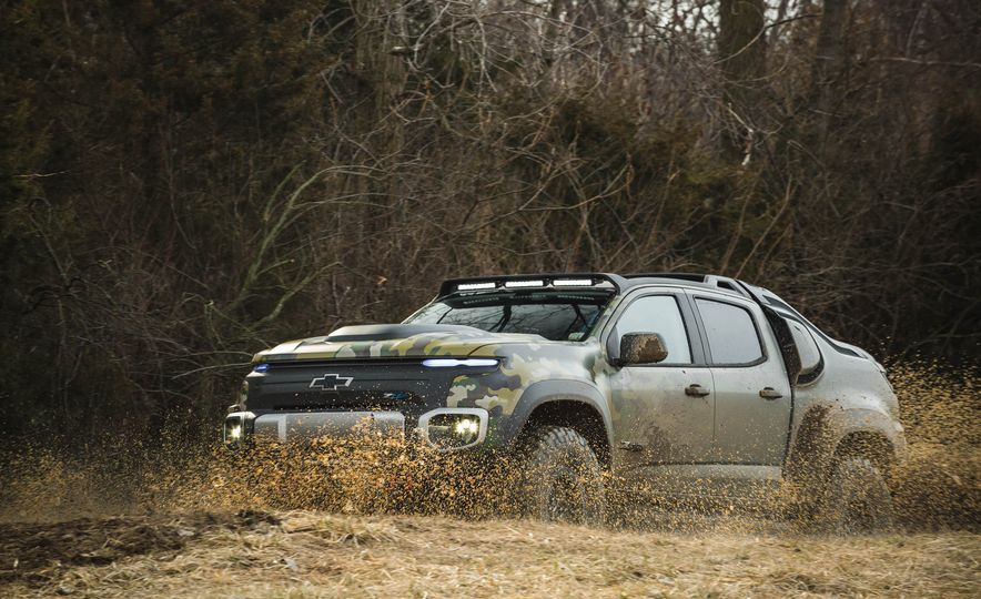 Chevrolet Colorado ZH2 Fuel Cell concept - Slide 20