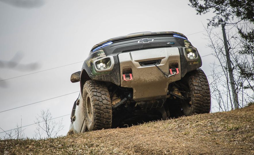 Chevrolet Colorado ZH2 Fuel Cell concept - Slide 24