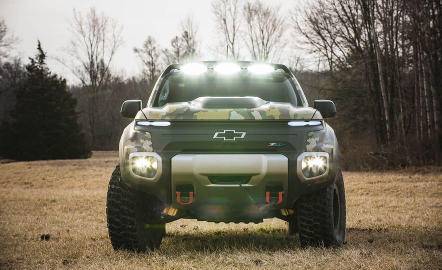 Chevrolet Colorado ZH2 Fuel Cell concept - Slide 30