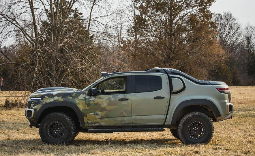 Chevrolet Colorado ZH2 Fuel Cell concept - Slide 33