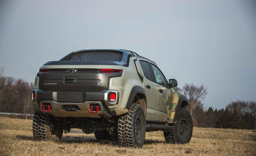 Chevrolet Colorado ZH2 Fuel Cell concept - Slide 34